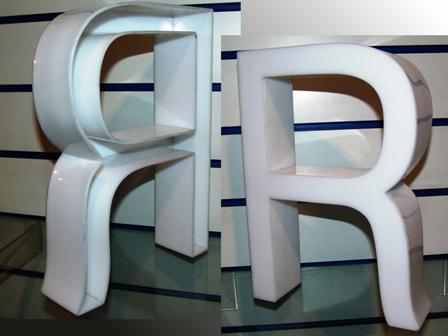 Letras corp reas de metacrilato fabricaci n letras - Fabricacion letras corporeas ...