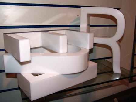 Letras corp reas de metacrilato fabricaci n letras corp reas al rotulista - Fabricacion letras corporeas ...