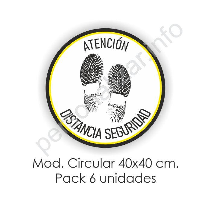Vinilo Adhesivo Suelo circular