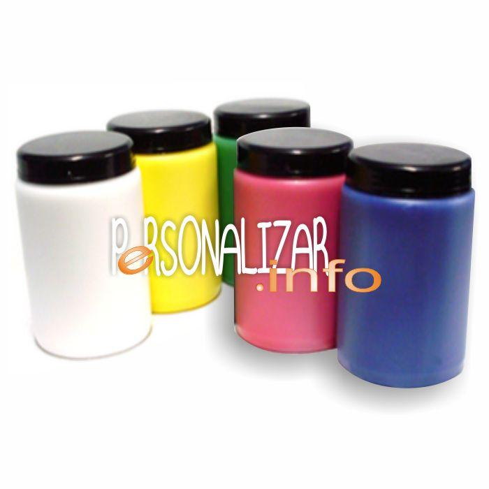 Tinta Serigrafia papel, textil colores claros y cuatricomia 1 Kg