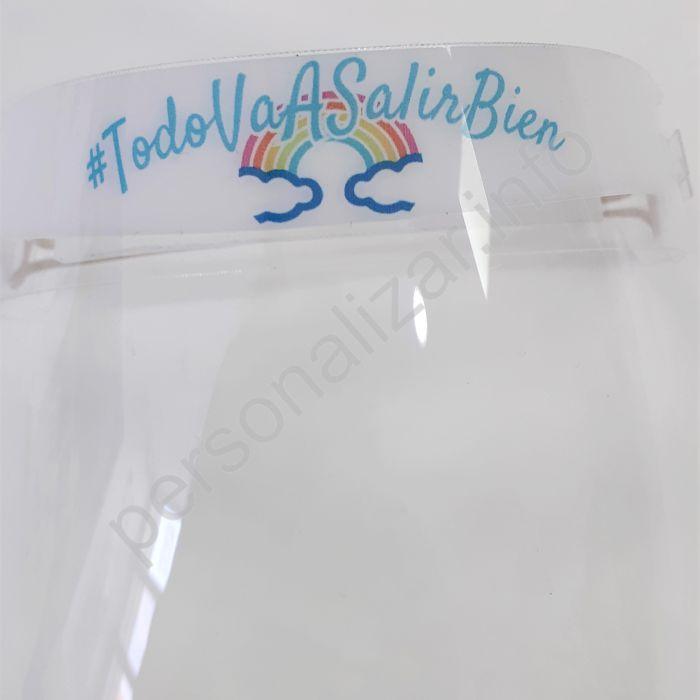 Pantalla Protectora Infantil Facial #TodoVaASalirBien Pack 4 uds.