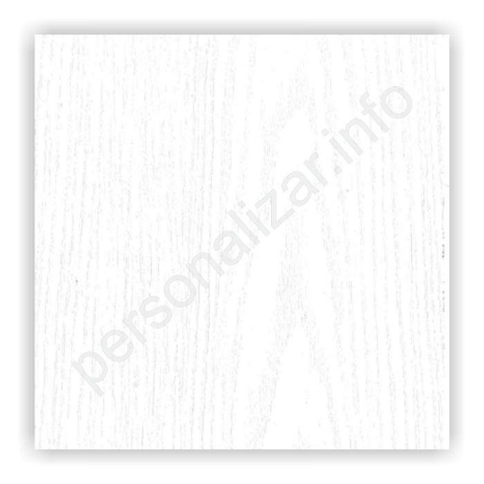 Vinilo Color Plano Textura Madera Blanco