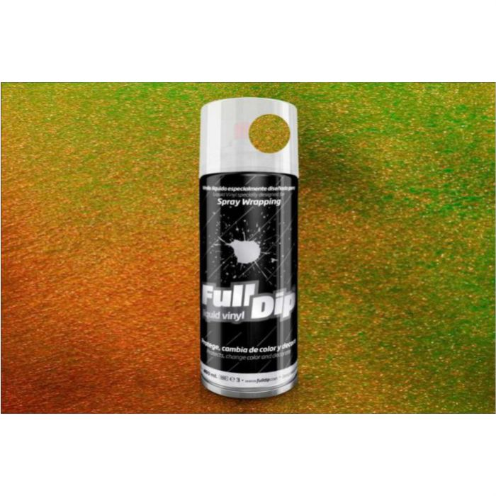 Full dip spray aluminio metalizado bronce
