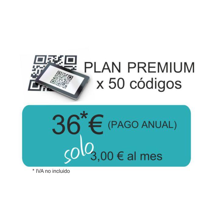 Plan Premium Qr Dinámico